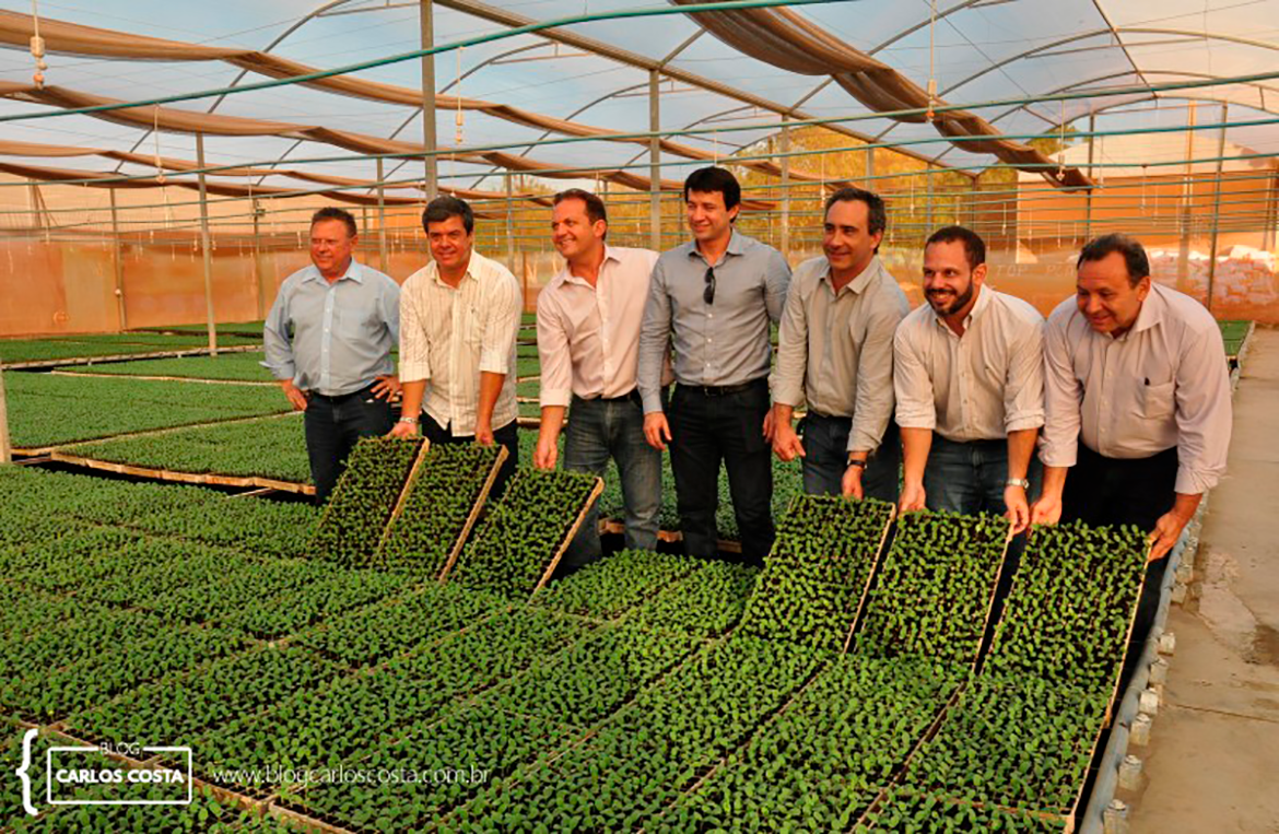Minister of Agriculture visits famous agricultural farm