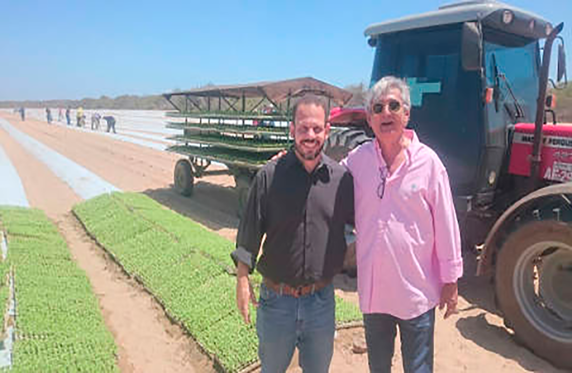 Technical visit to Agrícola Famosa in the Icapuí city