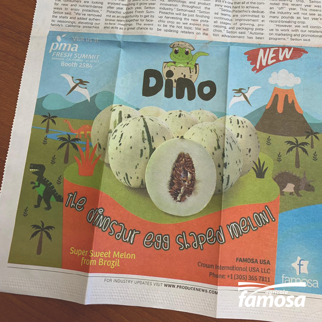 Our Dino's debut in the North American market!